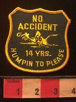 Campbell 66 Express Inc. Truck Patch 14 Years No Accident Missouri Trucking 68PP