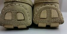 Ladies Leather Loafers Moccasins Casual Flats Shoes Size 3.5 UK EUR 36 Beige