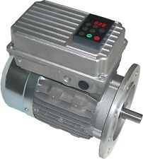 Motore Elettrico con Inverter integrato Potenza 0,55 kW HP 0.75 Mono Trifase 80A