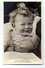 r1502 - Duke & Duchess of Kents son Prince Edward - postcard