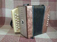 Authentic Soviet  children's accordion