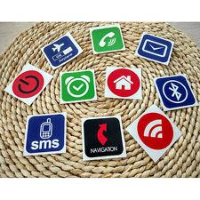 10x Tags NFC Smart Stickers pour Samsung Galaxy S5 S4 Nokia Sony Nexus
