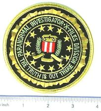 X-Files FBI police Patch Iron-On or Sew On