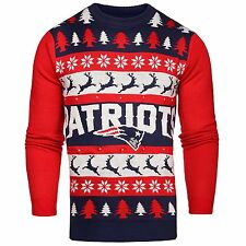 ... Forever Collectibles XL.  49.99 New. England Patriots One Too Many Ugly  Sweater Large 686eb9450