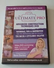 CRAFTERS COMPANION THE ULTIMENTE PRO ADVANCED CONSTRUCTION TECHNIQUES DVD