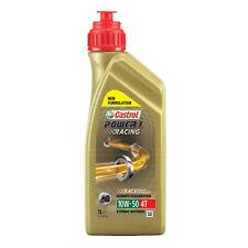 Castrol Power 1 Racing 4T 10w-50 Motorbike 4 Stroke 10W50 Engine Oil 1 Litre 1L