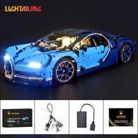 LED Light Kit For LEGO 42083 Technic Bugatti Chiron Race Car Advanced Lighting