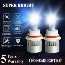 9007 HB5 1800W 270000LM LED Headlight Bulbs Hi-Lo Beam Conversion Kit Head Light