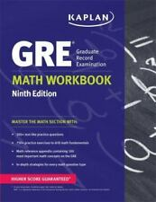 GRE® Math Workbook (Kaplan Test Prep) Ninth Edition