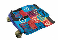 SAC ETHNIQUE A DOS BESACE BANDOULIERE HIPPIE BABA COOL CREATION ARTISANAL 9686