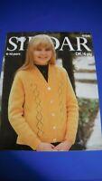 Sirdar Child's Cardigan Knitting Pattern 4194