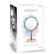BABYLISS riflessioni LUSSO illuminato trucco specchio 9427RU ROSE ORO CROMATO