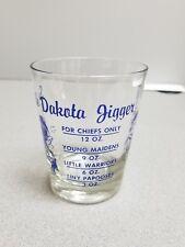 South Dakota Jigger Shot Glass Blue Barware+