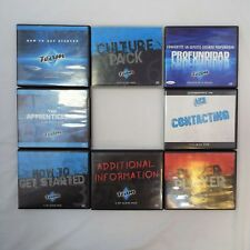 Life Training Lot of 8 CD Sets - Get Started, Apprenticeship, Over $320 Retail.