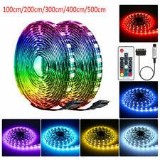 DC 12V 1M-5M RGB LED Strip Light PC Case Magnetic Strip Light SATA 20 Colors