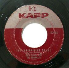 Dick Dixon Roommates 45 Rockabilly Northern Soul Kapp 292 Caterpillar Crawl 1959