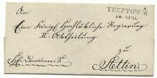 PREUSSEN Vorphila Treptow A/R (à la rega) pour 1840 après Szczecin