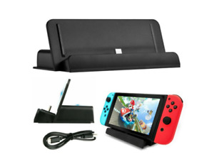 Nintendo Switch and Switch Lite Game Console Charging Dock Station Stand Charger