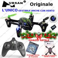 DRONE H107C radiocomando 2,4Ghz mini X4 NATALE Quadricottero *ORIGINALE HUBSAN*