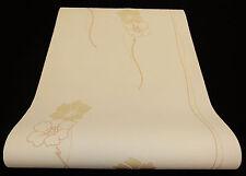 """05183-30-) Vliestapete """"Lacantara"""" Blumen Design Tapeten creme + beige mit Glanz"""