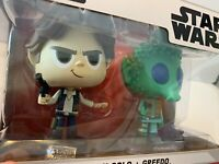 Funko Vinyl Star Wars Han Solo & Greedo Vinyl Figure Set With Case