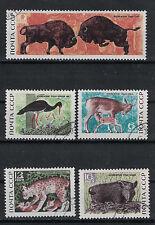 RUSSIA,USSR:1969 SC#3640-44(5) used Belovezhskaya Forest reservation