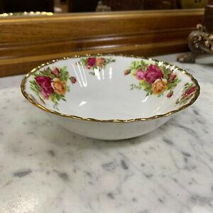 "Royal Albert ""Old Country Roses"" Dessert Bowl"