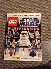 Lego Star Wars Mini Figures Ultimate Sticker Collection Book 1000s not complete