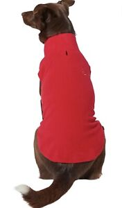 Frisco Better Pet Goods Frisco Basic Dog & Cat Fleece Vest, Red, Small
