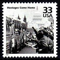 USA postfrisch MNH Weltkrieg Rückkehr der Geiseln Militär Armee Krieg 2000 / 57