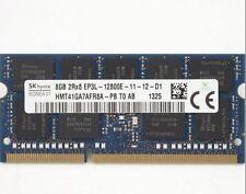 Hynix 8GB PC3-12800 DDR3L-1600 2Rx8 SODIMM ECC Unbuff Memory HMT41GA7AFR8A-PB