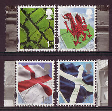 GREAT BRITAIN 2014 NEW REGIONAL SET OF 4 LITHO FINE USED