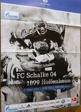 Gioco MANIFESTO - 08.03.2014 - FC Schalke 04 vs. 1899 sperare domestica + stagione 2013/2014