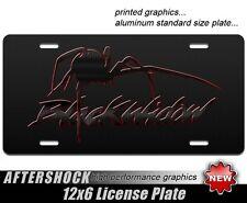 Black Widow Spider License Plate Car Truck Tag