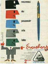 Publicité ancienne stylo Eversharp  1950