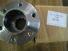 """ULTIMA 3.35"""" belt drive 1 1/2"""" offset for front pulley item #16 58-611"""