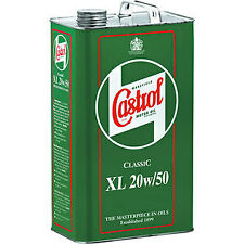 Castrol Classic XL 20W-50 Engine Oil - 1 Gallon 4.54 Litres 1925A