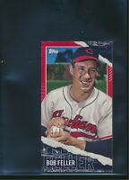 2020 Topps Rip Mini Red Parallel #M-98 Bob Feller True 1/1 Cleveland Indians