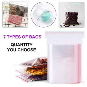 Reusable Freezer Bags Zip Resealable Large Freezer Food Bag Roll Sandwich Fridge