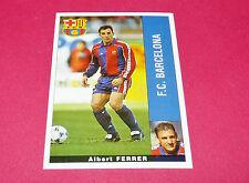 ALBERT FERRER FC BARCELONA PANINI LIGA 95-96 ESPANA 1995-1996 FOOTBALL