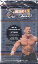 2008 Topps Chrome Heritage WWE Auto/Relic/SUPERFRACTOR Hot Pack ROCK JOHN CENA