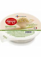 CJ Hetbahn Cooked Brown Rice, Gluten-Free, Vegan, Microwaveable, 7.4 oz / pack