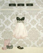 Marco Fabiano: Nothing to Wear 3 Fertig-Bild 24x30 Wandbild Mode Fashion Girl