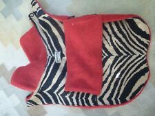 Vintage Mildred Pell Canine Creations Pet Coat : c. 1960's New York