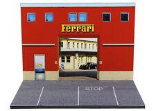 Diorama présentoir Usine Ferrari / Ferrari Factory - 1/43ème - #43-2-B-B-008