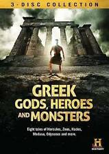 Greek Gods, Heroes and Monsters (Dvd, 2013, 3-Disc Set)