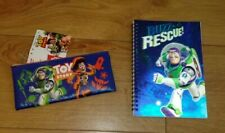 New Disney PIXAR Toy Story Set, Pencil Case and 3D Lined Notebook