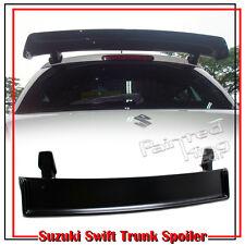 Unpaint For Suzuki Swift 2nd Hatchback M Style Trunk Spoiler 2011 ZA11S ABS