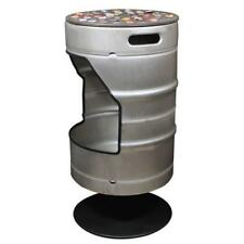 Beer Cap Traps Beer Keg Bar Stool Unique and Practical Metal Chair For Indoor an