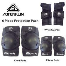 Adrenalin Skate Protection Pads Size LARGE 6 Piece Set Elbows Knee Wrist Guards